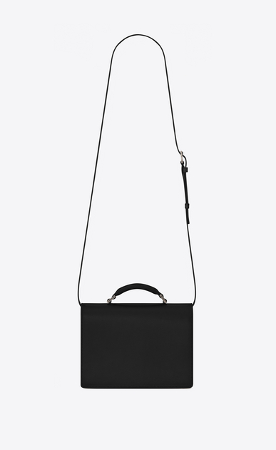 SAINT LAURENT Bellechasse D Medium BELLECHASSE SAINT LAURENT Bag in Black Leather b_V4