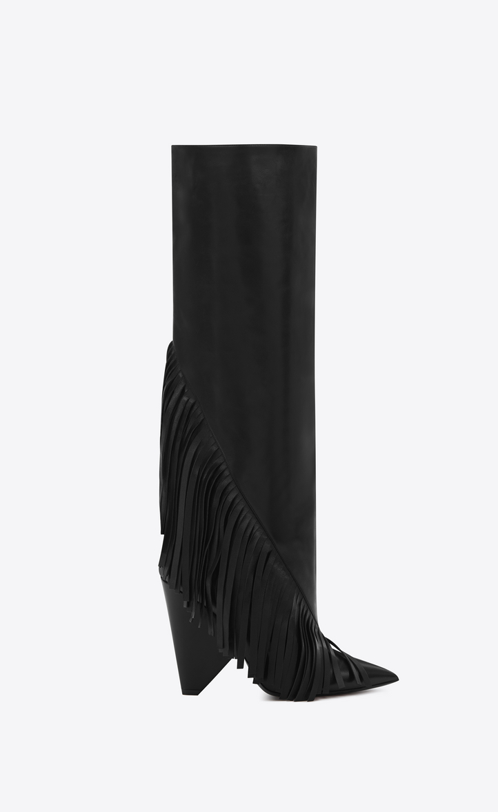 LouLou knee high boots - Black Saint Laurent Cheap Sale Low Shipping Fee Marketable Online 5z0F1