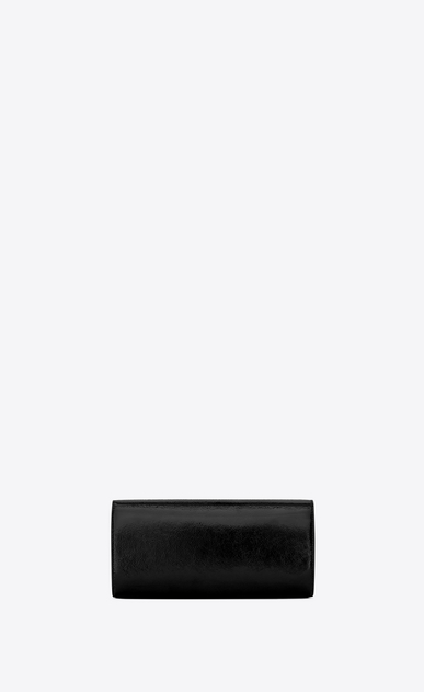 SAINT LAURENT Clutches D SMOKING Clutch in Black Patent Leather b_V4