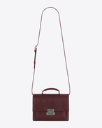 SAINT LAURENT Bellechasse D Sac medium BELLECHASSE SAINT LAURENT en cuir rouge foncé f