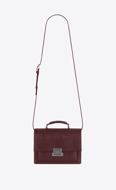 SAINT LAURENT Bellechasse D Medium BELLECHASSE SAINT LAURENT Bag in Dark Red Leather v4