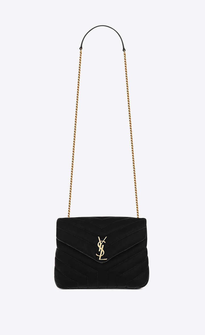 048a6115eb8 small loulou bag in black
