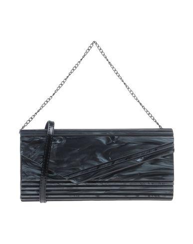 VOLUM レディース ハンドバッグ ブラック プラスティック 100%