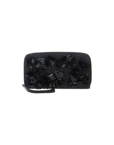 MARNI レディース ハンドバッグ ブラック 紡績繊維 / 革