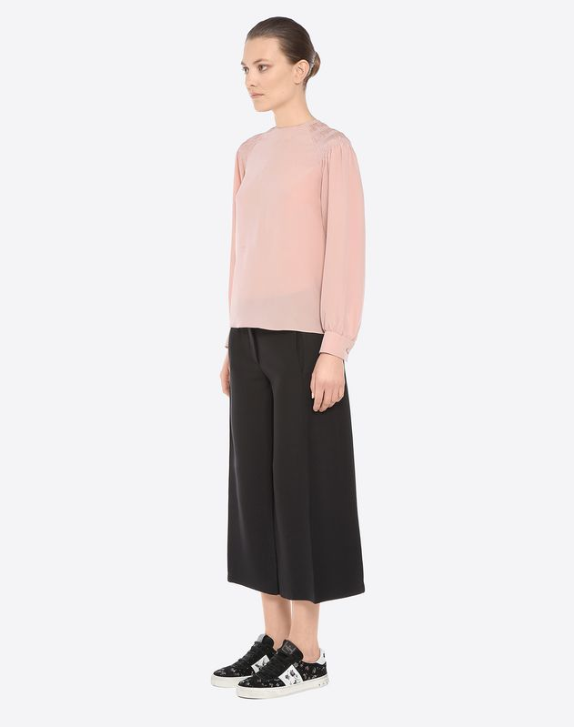 Crepe couture culottes