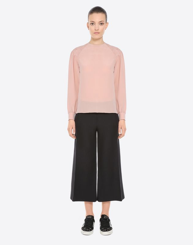 Crepe couture culottes