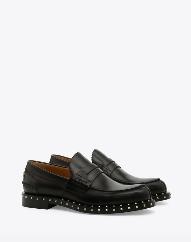Sole Stud Loafer