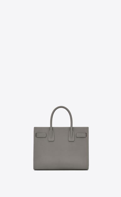 SAINT LAURENT Baby Sac de Jour D classic baby sac de jour bag in pearl grey grained leather b_V4