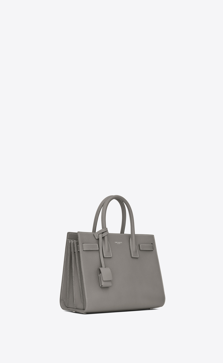 cb0010874a62 Zoom  baby sac de jour bag in pearl grey grained leather , Another angle  view