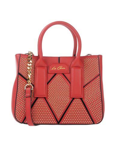 LA CARRIE BAG レディース ハンドバッグ レッド 紡績繊維