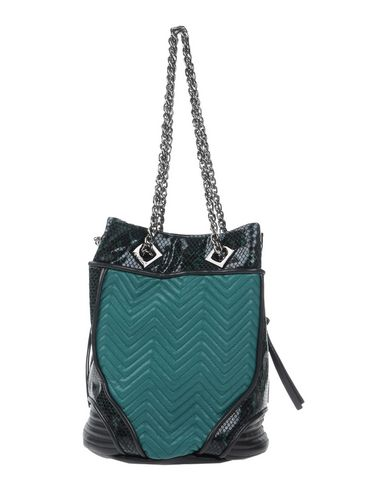 LA CARRIE BAG レディース ハンドバッグ グリーン 紡績繊維