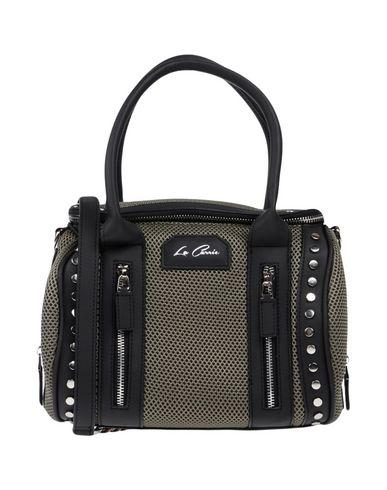 LA CARRIE BAG レディース ハンドバッグ ミリタリーグリーン 紡績繊維