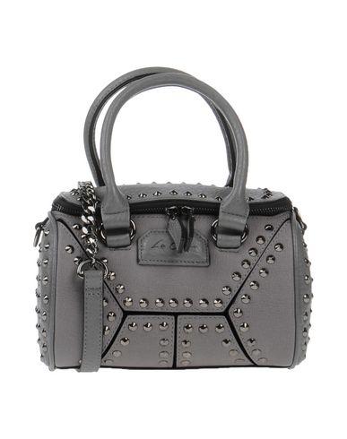 LA CARRIE BAG レディース ハンドバッグ グレー 紡績繊維