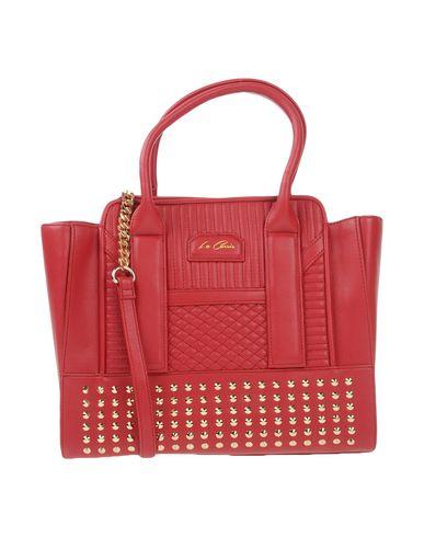 LA CARRIE BAG レディース ハンドバッグ ボルドー 紡績繊維