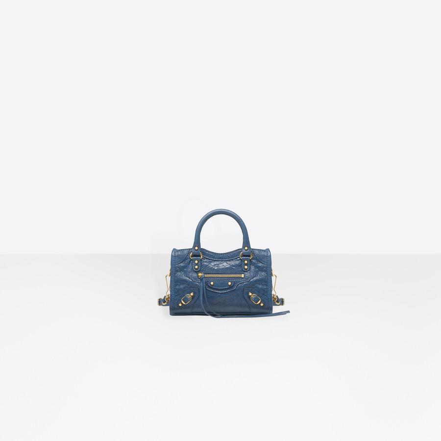 afc40a9090c2 BALENCIAGA Classic Gold Nano City Classic New City Handbags Woman f