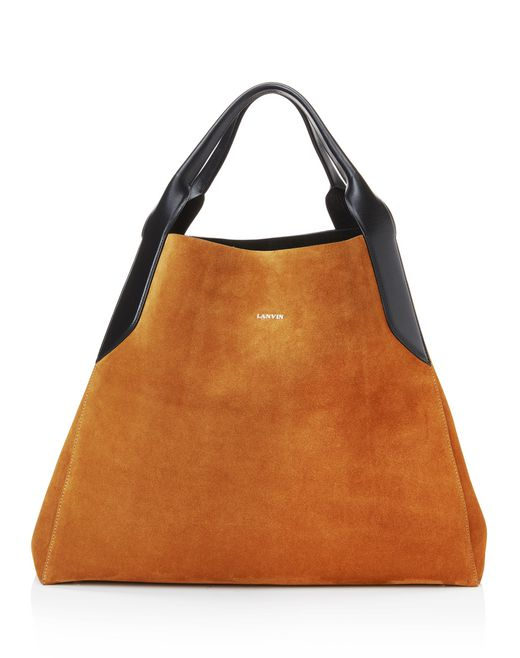 "lanvin large ""cabas"" bag women"