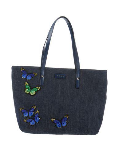 KAOS レディース ハンドバッグ ブルー 紡績繊維 / 革