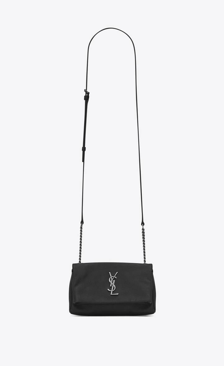 Saint Laurent Toy West Hollywood Bag In Black Textured Leather ... f4e7c77062