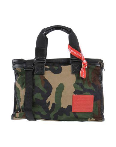 DESERTIKA レディース ハンドバッグ グリーン 紡績繊維 / 革