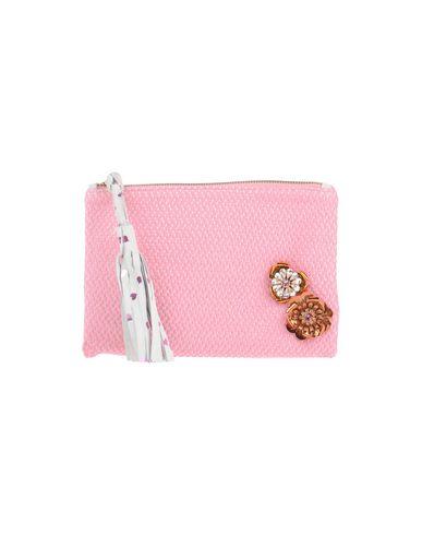 LISA C BIJOUX レディース ハンドバッグ ピンク 紡績繊維