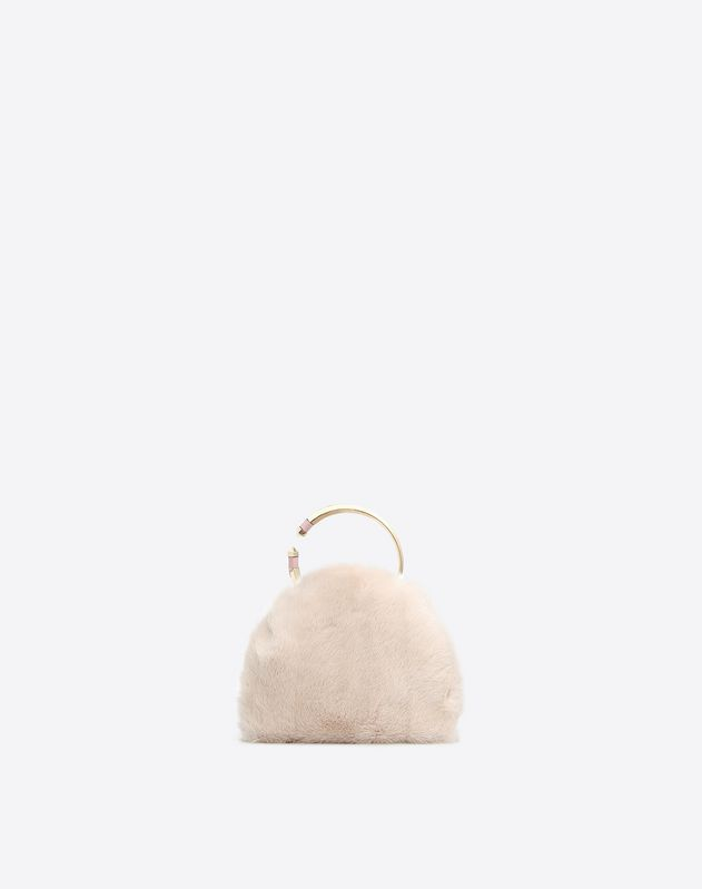 Mink Bebop Loop Clutch