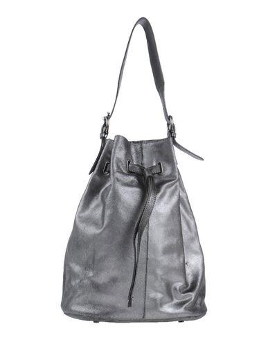 ORCIANI レディース ハンドバッグ 鉛色 牛革(カーフ)