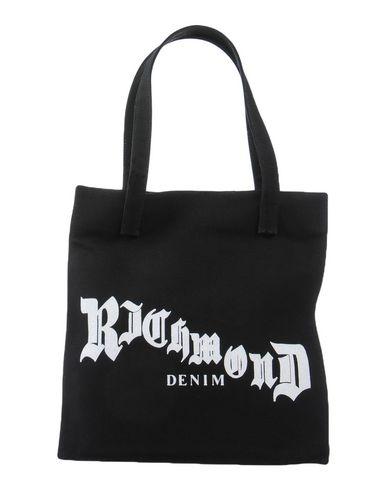 RICHMOND DENIM レディース ハンドバッグ ブラック 紡績繊維