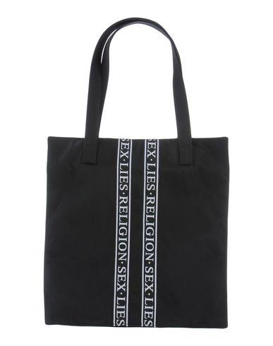 JOHN RICHMOND レディース ハンドバッグ ブラック 紡績繊維