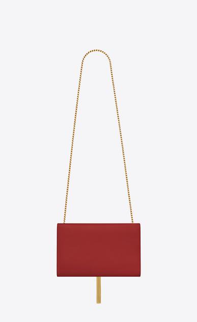 SAINT LAURENT MONOGRAM KATE WITH TASSEL D medium kate tassel chain bag in lipstick red leather b_V4