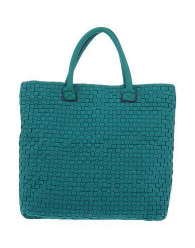 LEGHIL? レディース ハンドバッグ グリーン 紡績繊維