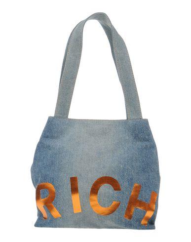 JOHN RICHMOND レディース ハンドバッグ ブルー 紡績繊維