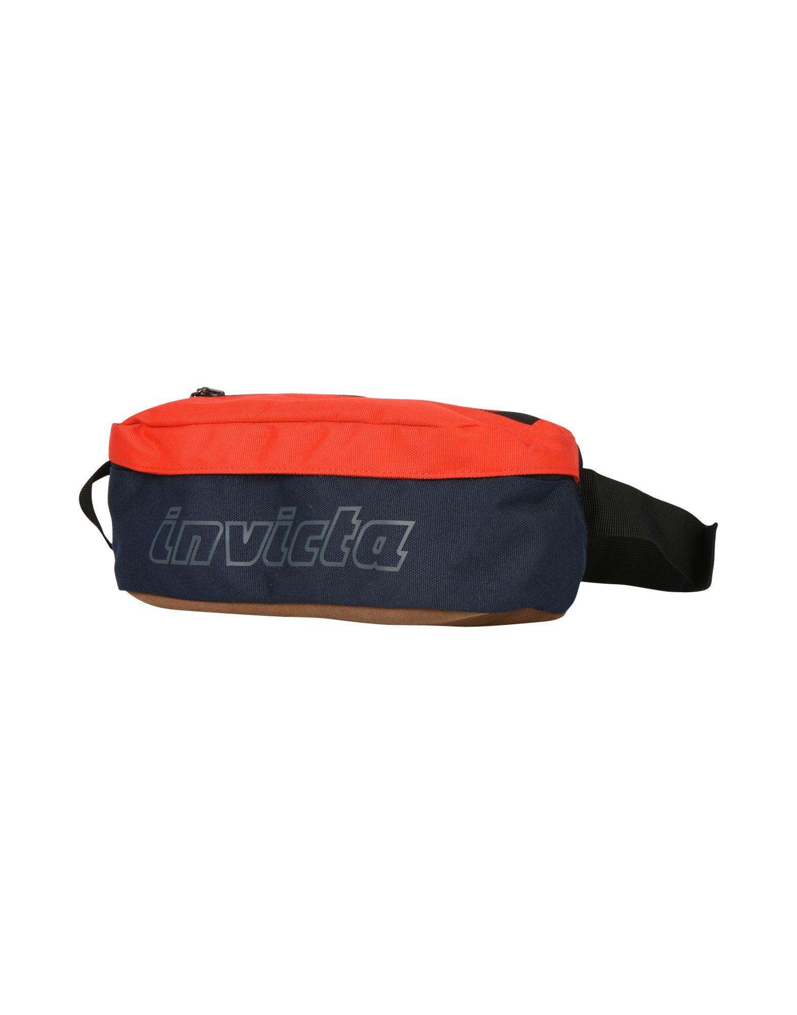 《送料無料》INVICTA Unisex バックパック&ヒップバッグ ダークブルー ポリエステル 100% EASY WAY WAIST BAG
