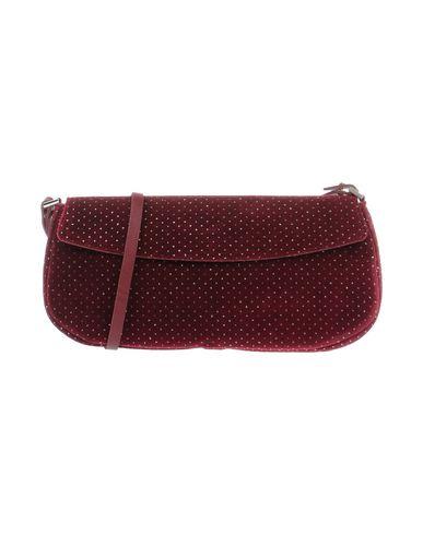 VIRREINA レディース メッセンジャーバッグ ボルドー 紡績繊維