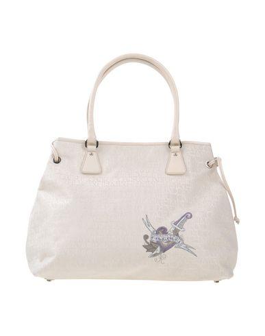 RICHMOND レディース ハンドバッグ アイボリー 紡績繊維 / 革