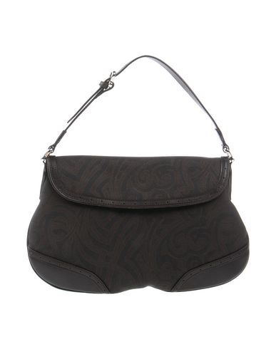 RICHMOND レディース ハンドバッグ ダークブラウン 紡績繊維 / 革