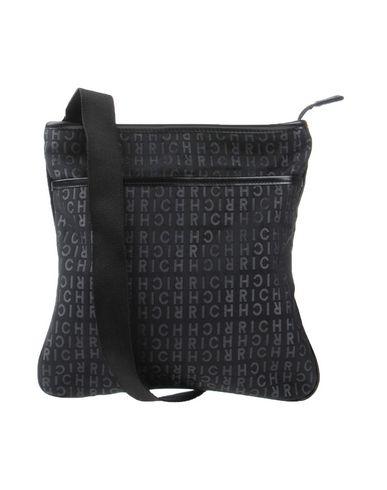 RICHMOND レディース メッセンジャーバッグ ブラック 紡績繊維 / 革
