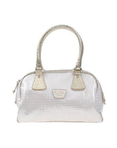 RICHMOND レディース ハンドバッグ ホワイト 紡績繊維