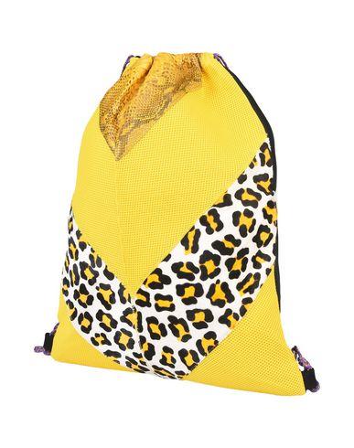 IMEMOI レディース バックパック&ヒップバッグ イエロー 紡績繊維