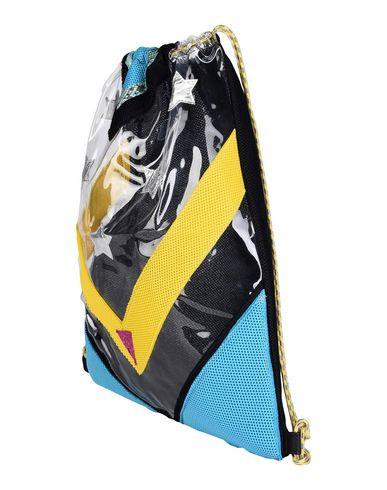 IMEMOI レディース バックパック&ヒップバッグ ブラック 紡績繊維
