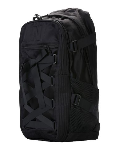 NICOPANDA レディース バックパック&ヒップバッグ ブラック 紡績繊維