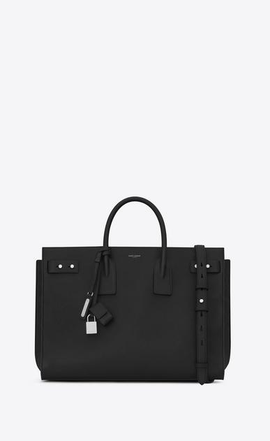 SAINT LAURENT Sac de Jour Men U LARGE SAC DE JOUR SOUPLE Bag in Black leather v4