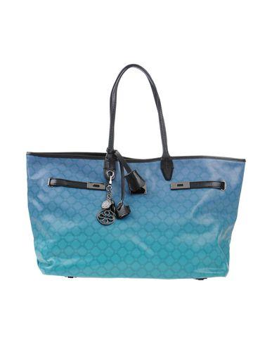 V°73 レディース ハンドバッグ ブルー 紡績繊維