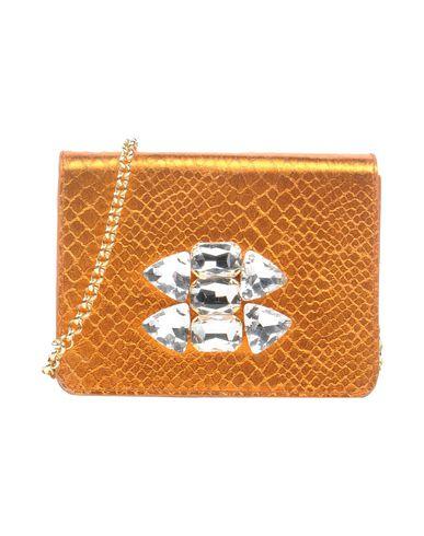 BURANA レディース ハンドバッグ オレンジ 紡績繊維