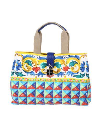 DOLCE & GABBANA レディース ハンドバッグ イエロー 紡績繊維