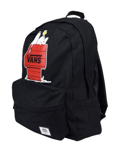 VANS レディース バックパック&ヒップバッグ ブラック コットン 100%