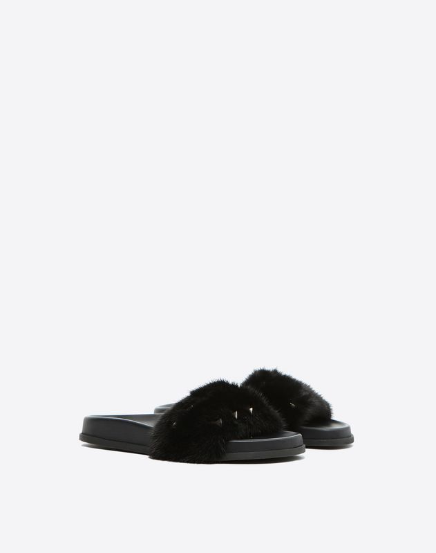 Mink Rockstud pool Slide