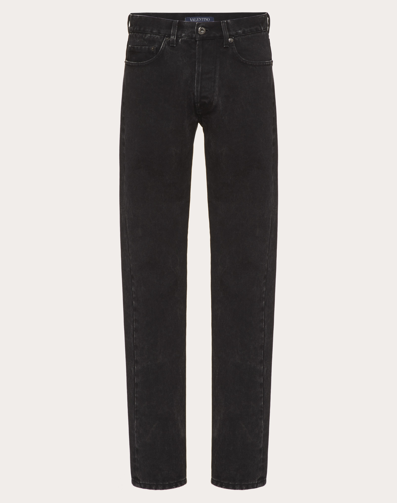 Marble wash 5-pocket jeans