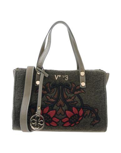 V°73 レディース ハンドバッグ ミリタリーグリーン 紡績繊維