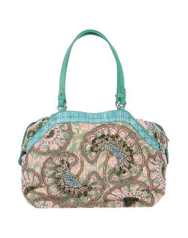 JAMIN PUECH レディース ハンドバッグ ライトグリーン 紡績繊維 / 革