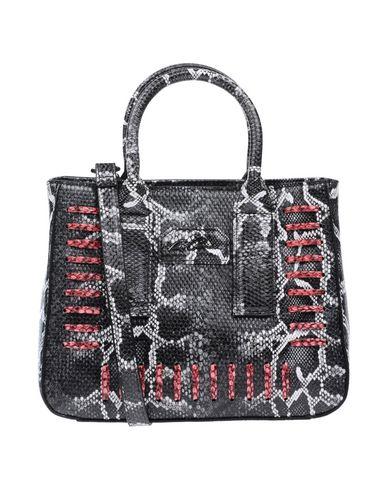 LA CARRIE BAG レディース ハンドバッグ 鉛色 紡績繊維